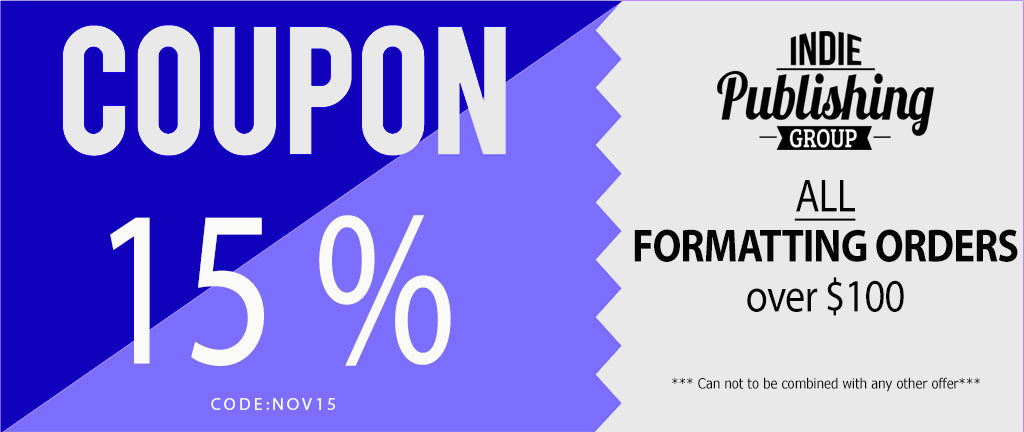 Promotions Coupon 15% Nov