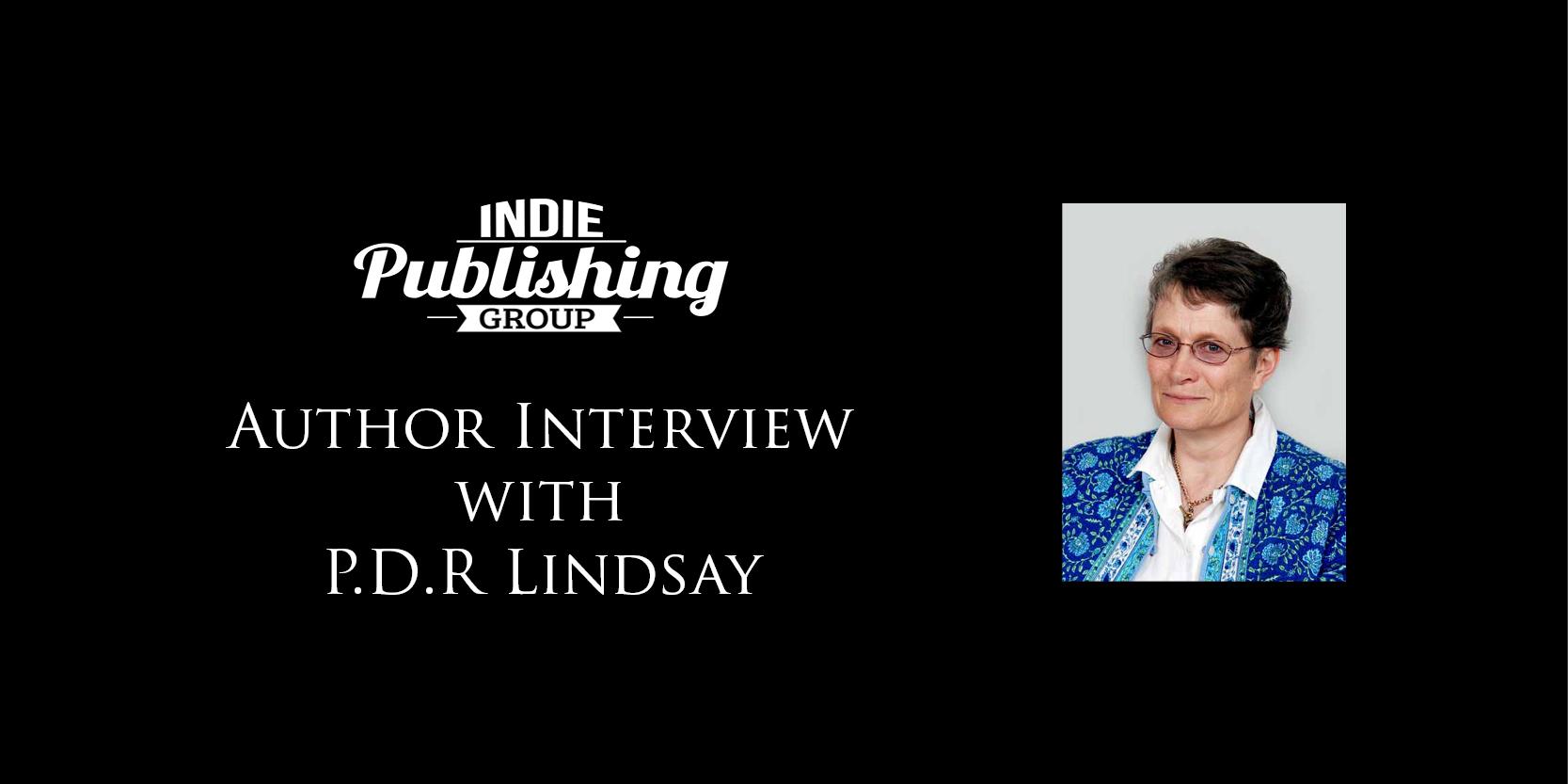 Author Interview P.D.R Lindsay