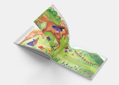 Mac the Butterfly Horse Book