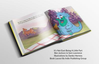 It's Not Easy Being A Little Fart Book